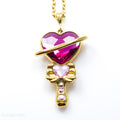 PRE-ORDER Sterling Silver Saturnine Scepter Necklace