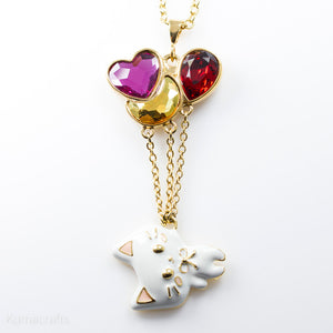 Floating Kitty Necklace