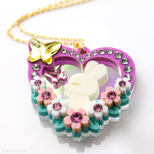 Bunny Garden Necklace