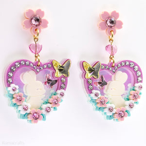 Bunny Garden Earrings