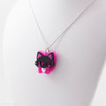 Mini Angry Meows Necklace or Pin