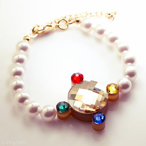 Crystal Communicator Bracelet