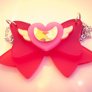 Super Sailor Moon Bow Necklace