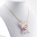 Spring Fawn Necklace or Brooch