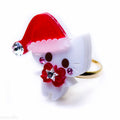Santa Kitty Ring