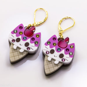 Nyancone Earrings