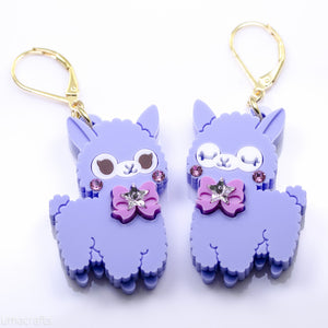 Candy Alpaca Earrings