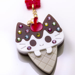 Nyancone Necklace or Brooch