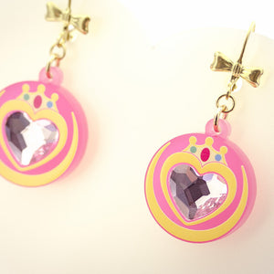Prism Heart Earrings