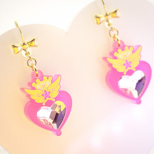 Chibi Moon Compact Earrings