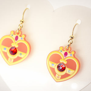 Cosmic Heart Earrings
