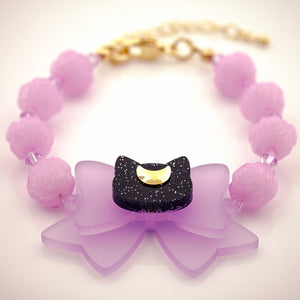 Moon Kitty Bracelet