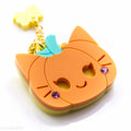 Kitty Pumpkin Necklace or Brooch