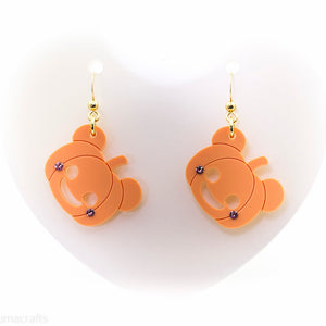 Kuma Pumpkin Earrings