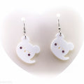 Ghost Kuma Earrings
