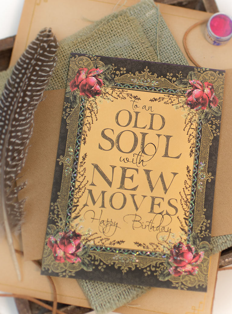Old Soul Greeting Card