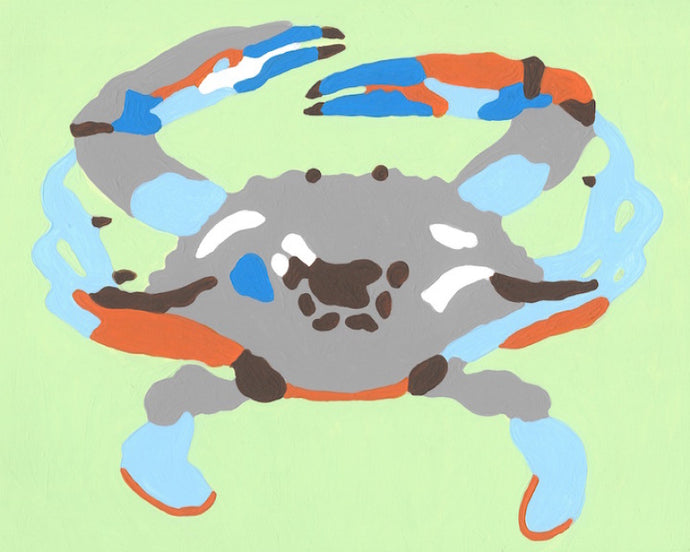 Blue Crab - 7 Color Paint by Number Kit