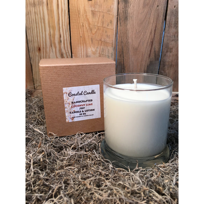 Coconut Lime Coastal Candle