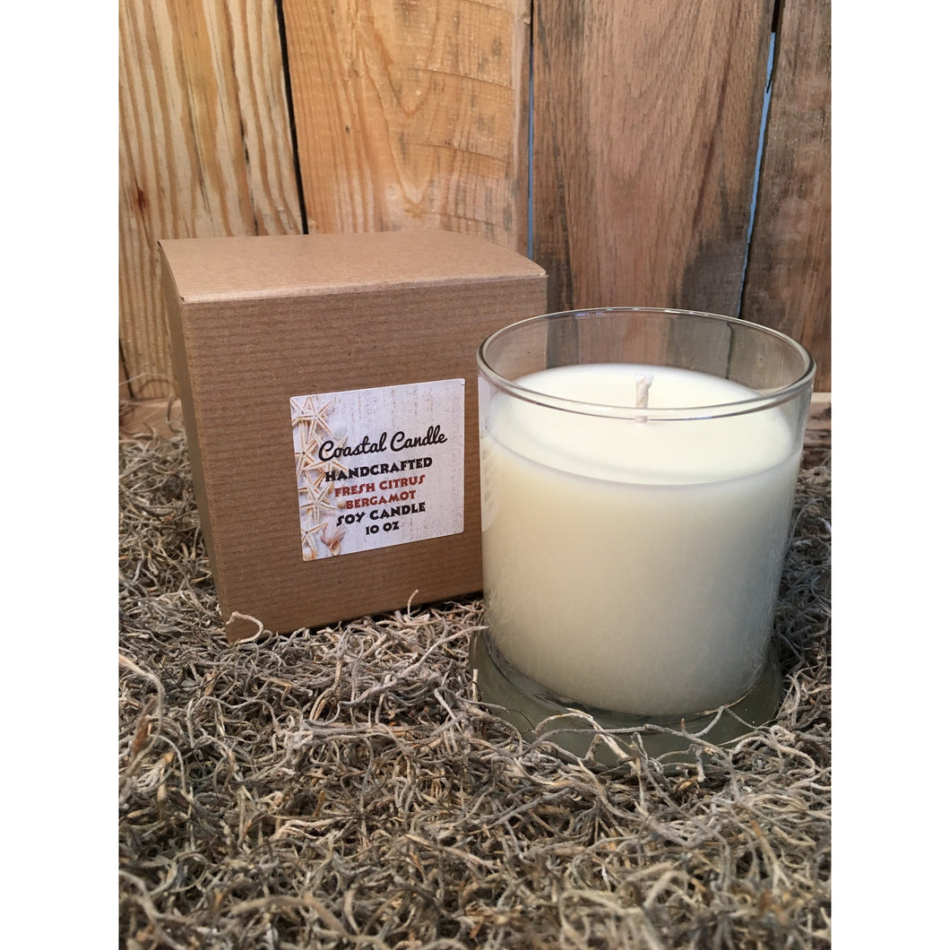 Fresh Citrus Bergamot Coastal Candle