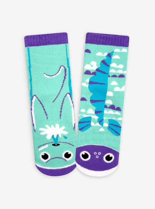 Pals Socks - Dolphin & Fish Pals Kids Collectible Mismatched Animal Socks