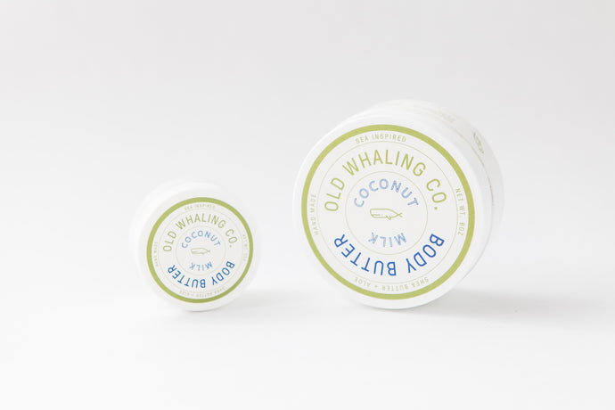 Old Whaling Company - Coconut Milk Travel-Size Body Butter (2oz)