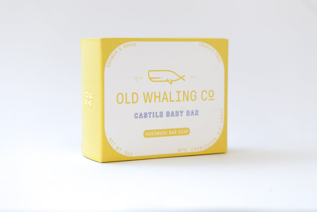 Old Whaling Company - Castile Baby Bar Soap