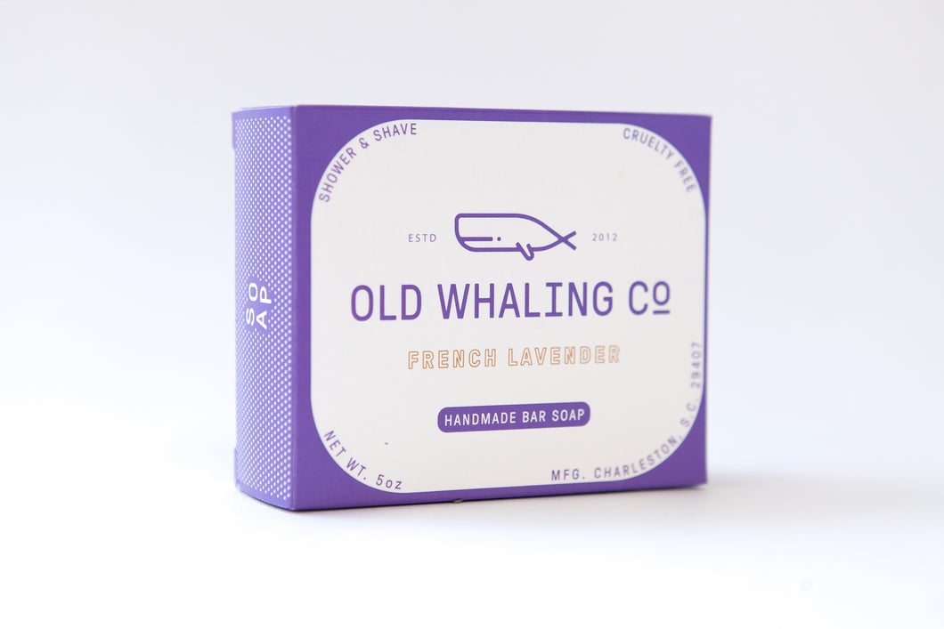 Old Whaling Company - French Lavender Bar Soap