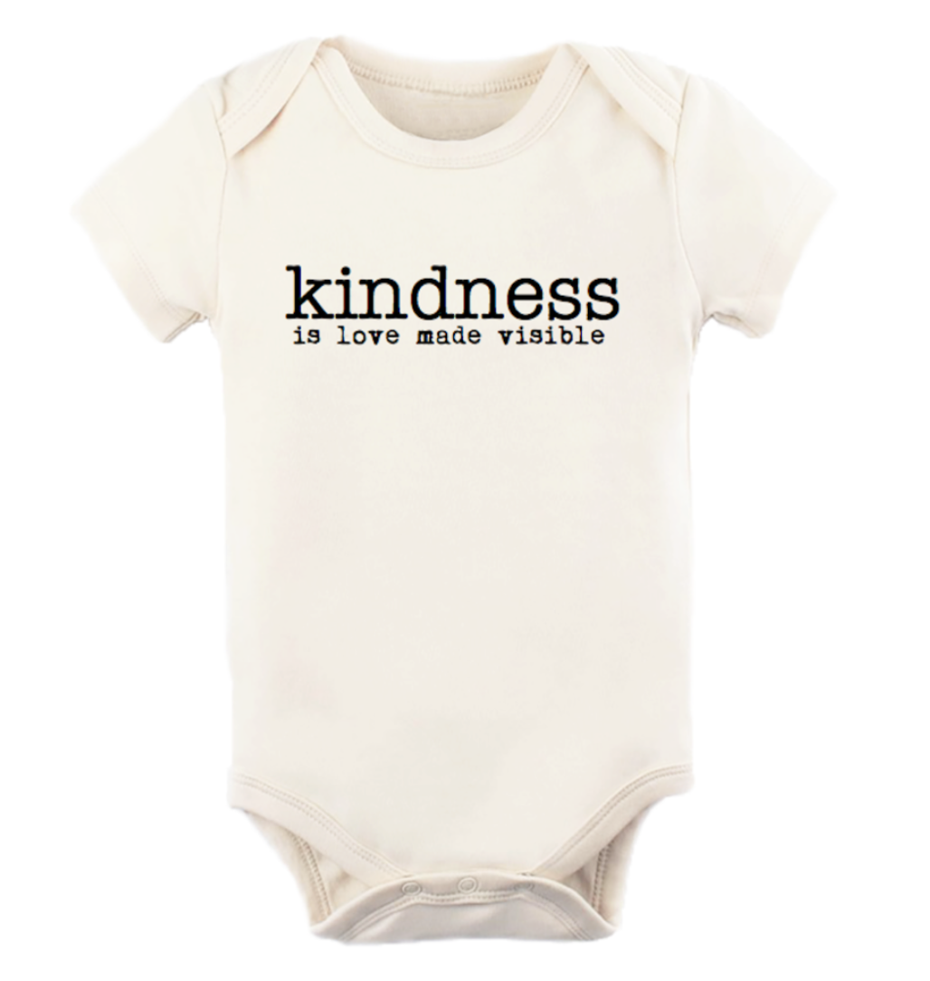 Tenth & Pine - Kindness Is Love Made Visible Short Sleeve Onesie