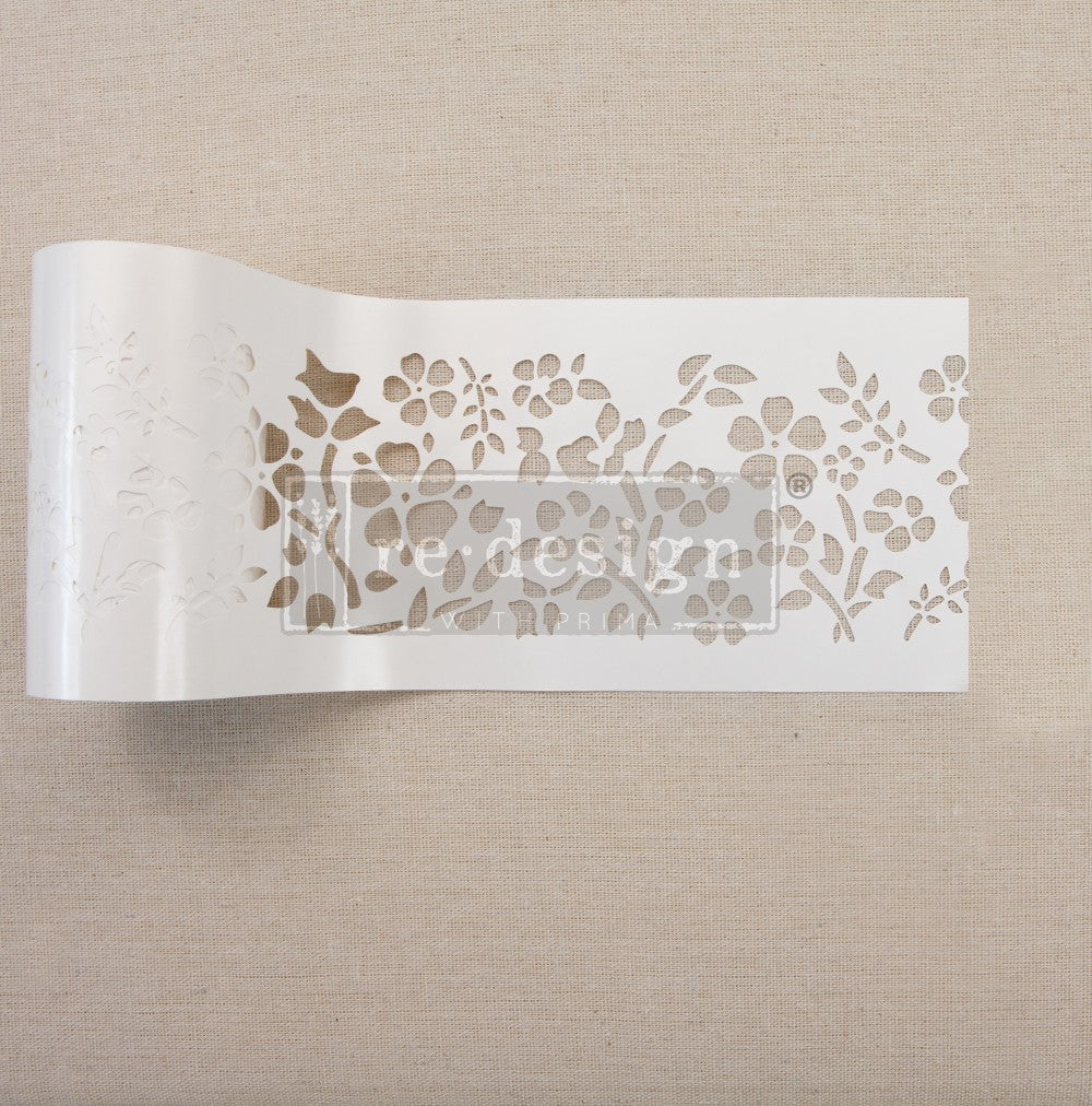 Redesign with Prima - Redesign Stick & Style Stencil Roll - Royal Ann Garden