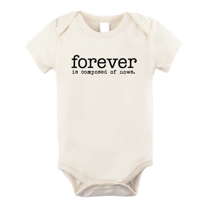 Tenth & Pine - Forever Is Composed Of Nows Short Sleeve Onesie