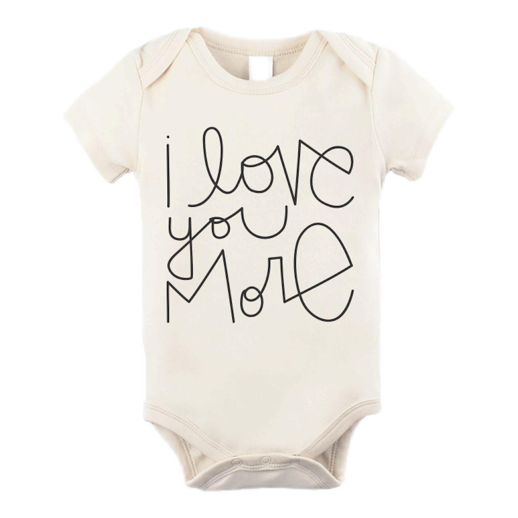 Tenth & Pine - Love You More Short Sleeve Onesie
