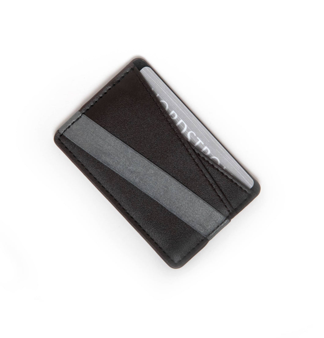 Tech Candy - TO HAVE & TO HOLD ORIGAMI PHONE-BACK WALLET : BLACK