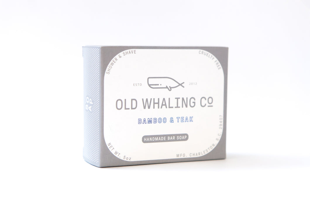 Old Whaling Company, Bamboo + Teak