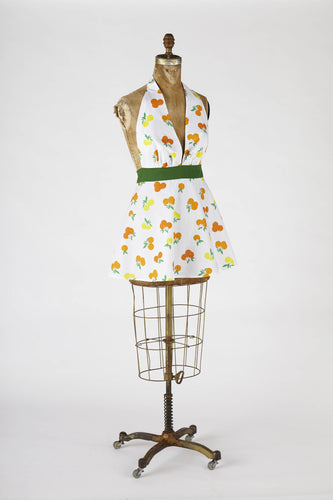 Sexy Retro Marilyn Apron Oranges