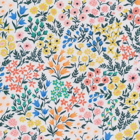 Cloud 9 Meadow Cotton Sateen Fabric by the Yard 62 inches wide