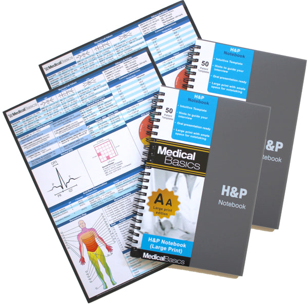 H&P notebook (Larger Print Edition)