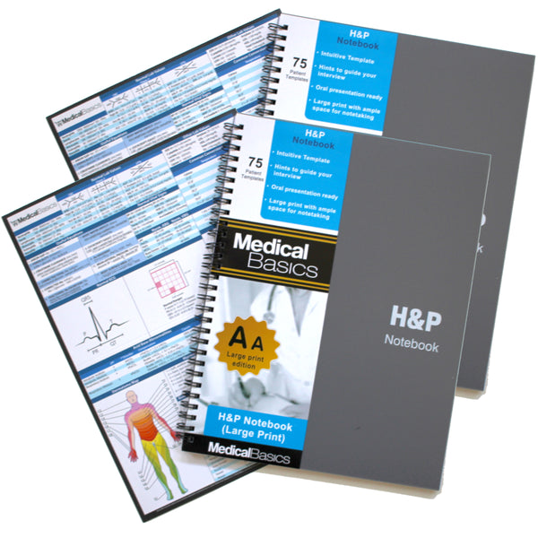 "x20 H&P notebook Plus (Larger Print Edition) 8""x11"""