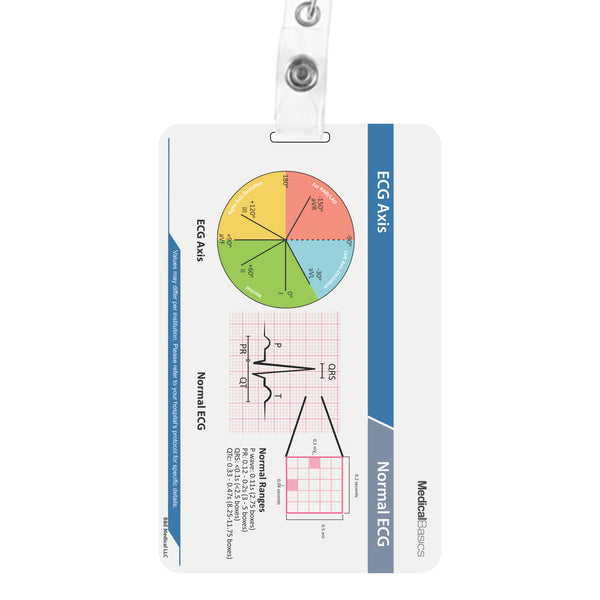 Scrubnotes (Vertical hole) - 13 Card Set with Medical Abbreviation Booklet