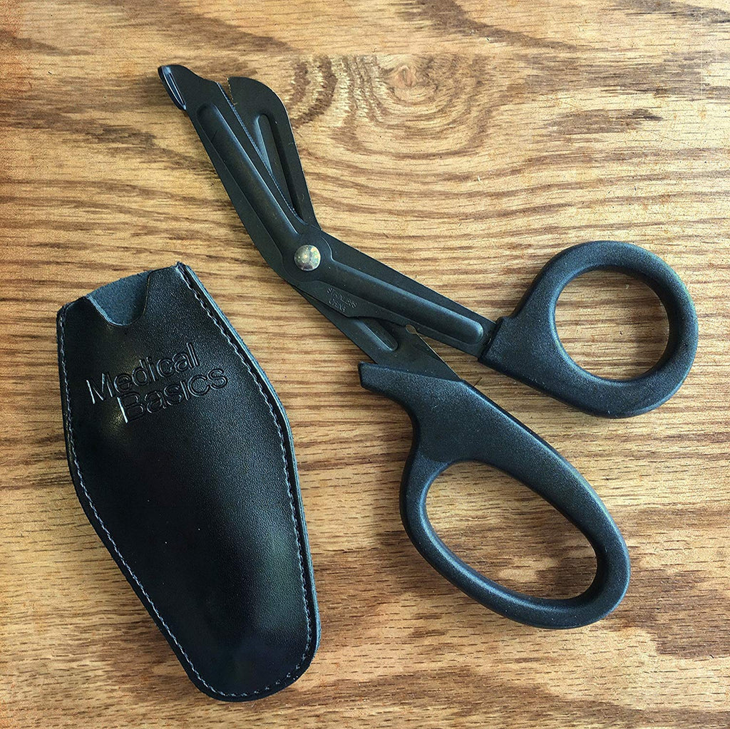 Medical Shears with Belt Clip Holster