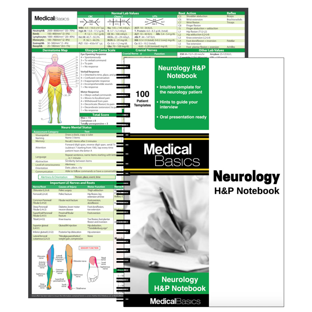 Neurology H&P Notebook
