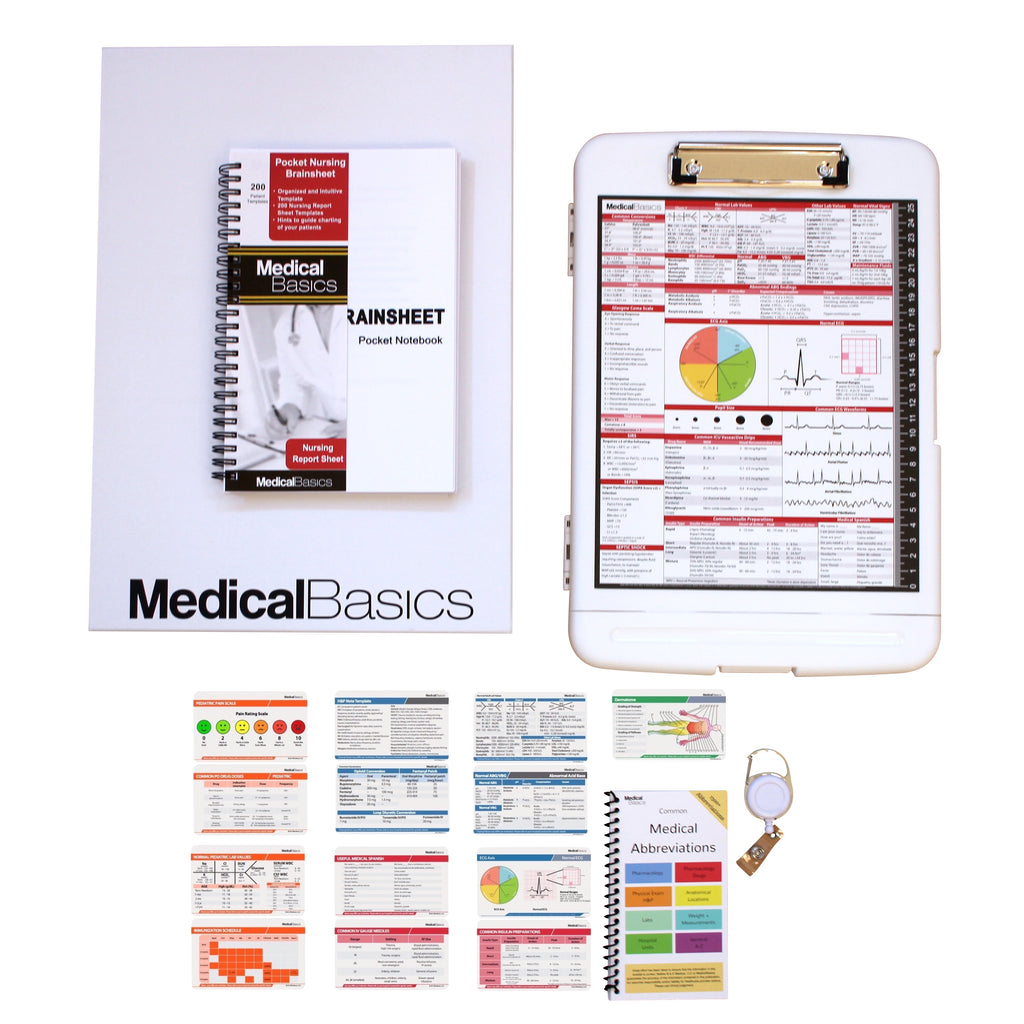 Nursing Gift Box (Pocket Brainsheet + Scrubnotes)