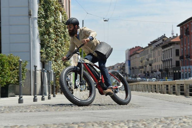 city fat tire electric bike