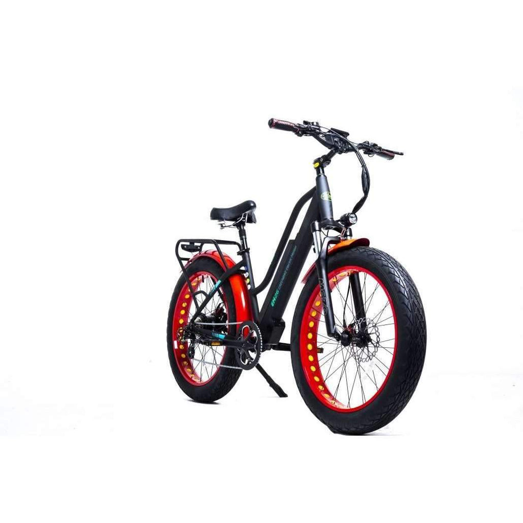 greenbike electric motion em-26 fat tire electric bike at really good ebikes