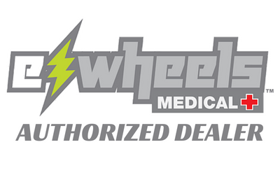 Ewheels medical authorized dealer logo for really good ebikes
