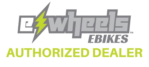 ewheels ebikes authorized dealer logo for really good ebikes