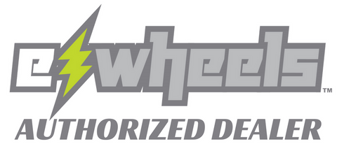 ewheels mobility scooters authorized dealer logo for really good ebikes