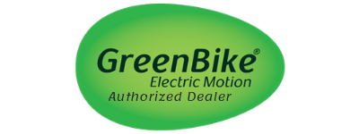 greenbike electric motion authorized dealer logo