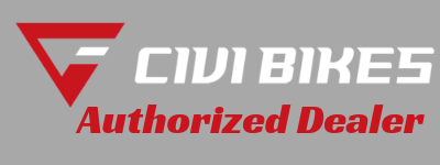 civi bikes authorized dealer logo for really good ebikes