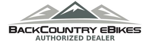 backcountry ebikes authorized dealer logo