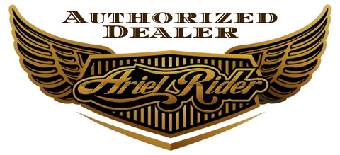 ariel riders bikes authorized dealer logo for really good ebikes